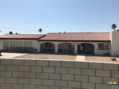 Palm Desert Single Family Home For Sale: 73481 Purslane Street