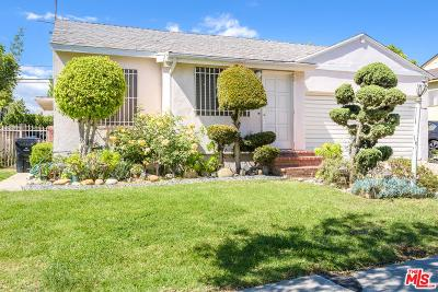 Culver City CA Single Family Home For Sale: $1,100,000
