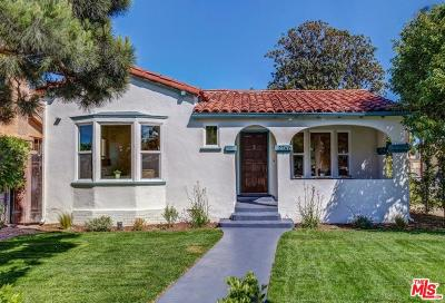 Mid Los Angeles (C16) Single Family Home For Sale: 2760 South Harcourt Avenue