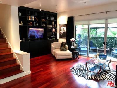 West Hollywood Condo/Townhouse Active Under Contract: 1200 North Sweetzer Avenue #1