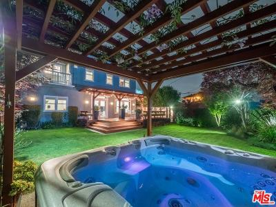 Los Angeles Single Family Home Active Under Contract: 3783 Stewart Avenue