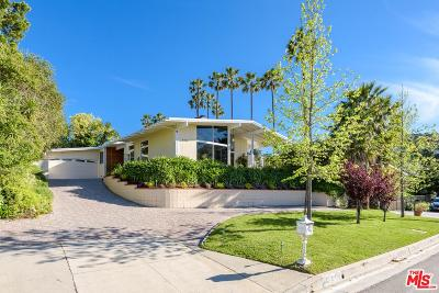 Single Family Home For Sale: 8416 Mulholland Drive