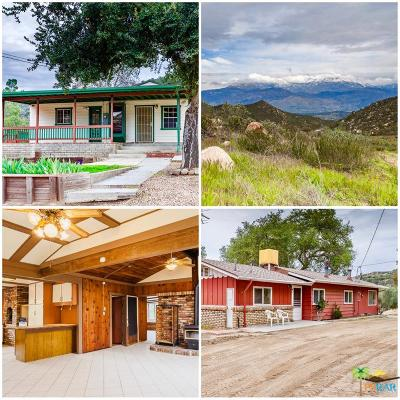Riverside County Single Family Home For Sale: 42815 Avery Canyon Road