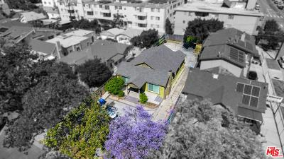 Los Angeles Single Family Home Active Under Contract: 406 North Kenmore Avenue