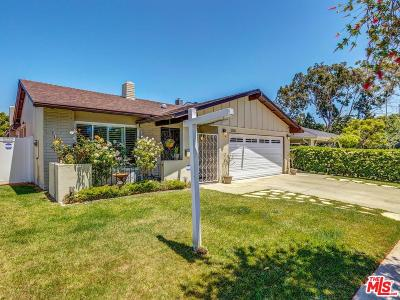 Culver City Single Family Home For Sale: 5130 Randall Street