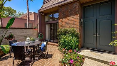 Marina Del Rey Condo/Townhouse Sold: 4561 Alla Road #1