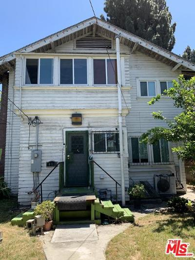 Los Angeles Single Family Home For Sale: 481 Park Front