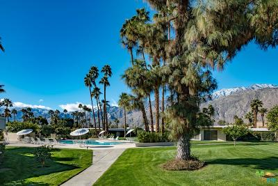 Palm Springs Condo/Townhouse For Sale: 1855 East Ramon Road #3