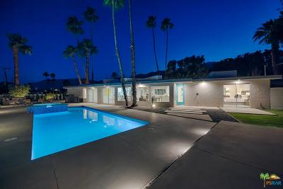 Palm Springs Single Family Home For Sale: 212 Cerritos Drive