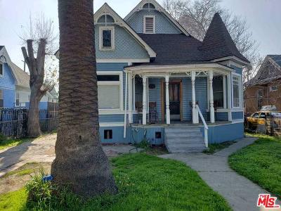 Los Angeles Single Family Home For Sale: 210 East 25th Street