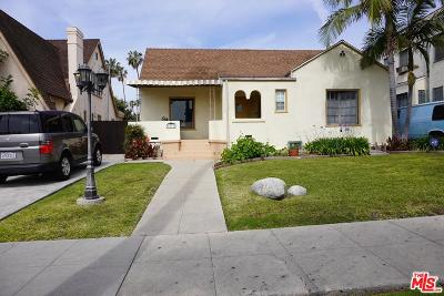 Single Family Home For Sale: 5313 South Rimpau Boulevard
