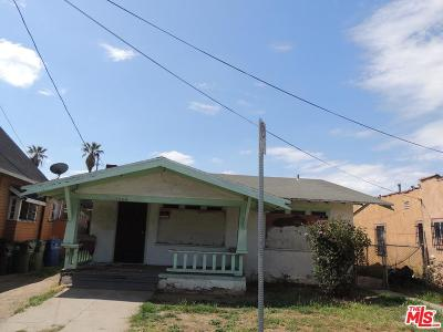 Los Angeles CA Single Family Home For Sale: $475,000