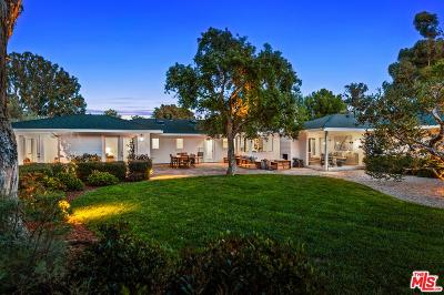 Malibu Single Family Home For Sale: 28730 Grayfox Street