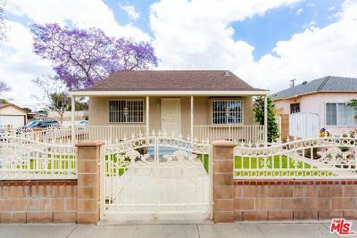 Long Beach Single Family Home For Sale: 1724 East 63rd Street