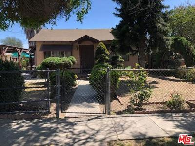 Los Angeles CA Single Family Home For Sale: $360,000