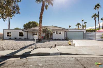 Palm Springs Single Family Home For Sale: 1377 East Largo Circle