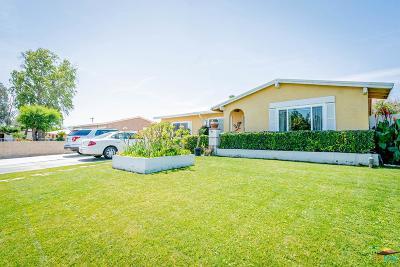 Indio Single Family Home Active Under Contract: 82451 Orange Grove Avenue