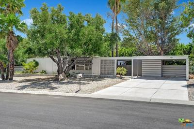 Palm Springs Single Family Home Active Under Contract: 461 East Glen Circle