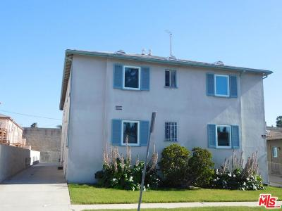 Inglewood Residential Income For Sale: 3106 West 84th Street