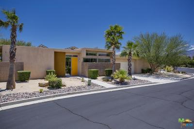 Palm Springs Single Family Home Active Under Contract: 2710 Alexander Club Drive