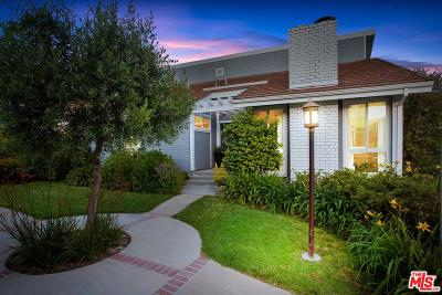 Pacific Palisades Single Family Home Active Under Contract: 1314 Avenida De Cortez