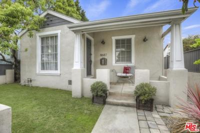 Los Angeles Single Family Home For Sale: 8687 Cadillac Avenue