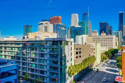 Los Angeles Single Family Home For Sale: 1100 South Hope Street #812