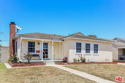 Single Family Home For Sale: 6461 West 87th Street