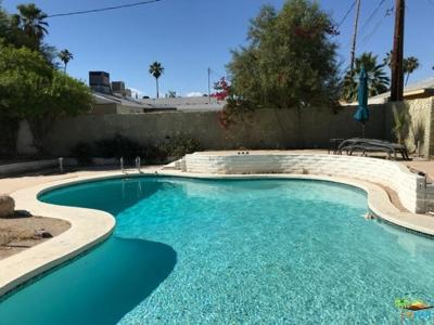 Palm Springs Single Family Home For Sale: 3520 East Sunny Dunes Road