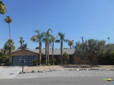 Palm Springs Single Family Home Active Under Contract: 839 East San Lorenzo Road