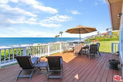 Malibu Single Family Home For Sale: 31573 Sea Level Drive