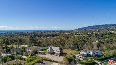 Pacific Palisades Single Family Home For Sale: 915 Amalfi Drive