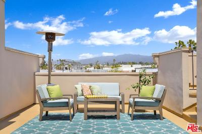 Santa Monica Condo/Townhouse Active Under Contract: 1252 Euclid Street #104