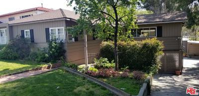 Studio City Single Family Home Sold: 10828 Valley Spring Lane