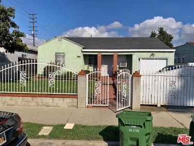 Compton Single Family Home For Sale: 614 North Mayo Avenue
