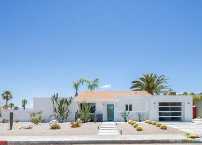 Palm Springs Single Family Home Active Under Contract: 1391 East Francis Drive