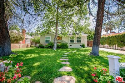 Sherman Oaks Single Family Home For Sale: 5640 Vesper Avenue