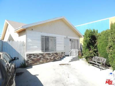 Los Angeles Single Family Home For Sale: 813 West 58th Street