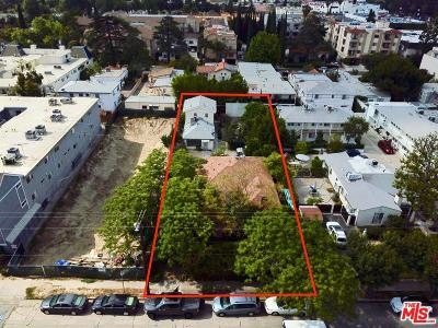 North Hollywood Residential Lots & Land Active Under Contract: 10806 Blix Street