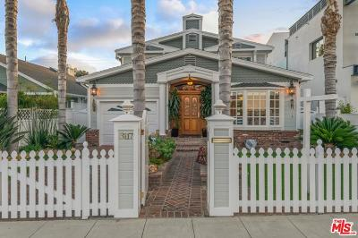 Marina Del Rey Single Family Home For Sale: 3117 Yale Avenue