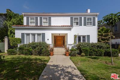 Hancock Park-Wilshire (C18) Single Family Home For Sale: 230 South Lucerne