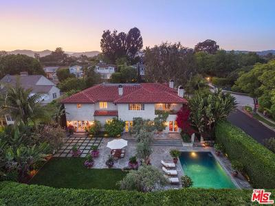 Pacific Palisades Single Family Home For Sale: 325 Toyopa Drive
