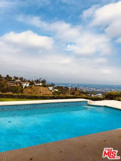 Beverly Hills Rental For Rent: 1638 Tower Grove Drive