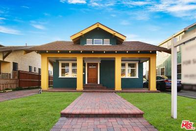 Los Angeles Single Family Home For Sale: 5141 Arlington Avenue