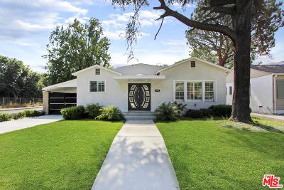 Toluca Lake Single Family Home Active Under Contract: 4555 Willowcrest Avenue