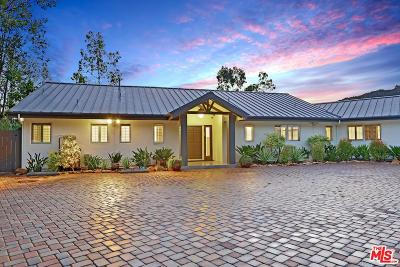 Calabasas CA Single Family Home For Sale: $1,699,000