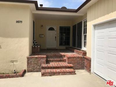 Beverlywood Vicinity (C09) Rental For Rent: 9533 Cresta Drive