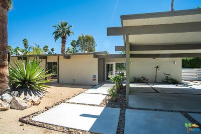 Palm Springs Single Family Home Active Under Contract: 690 South Compadre Road