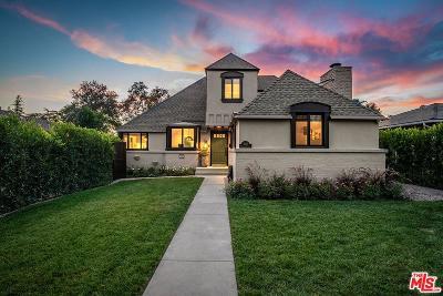 Toluca Lake Single Family Home Active Under Contract: 4415 Sancola Avenue