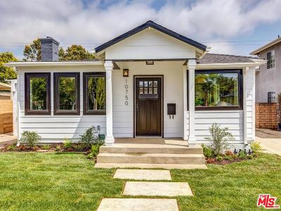 Los Angeles County Single Family Home Active Under Contract: 10750 Oregon Avenue